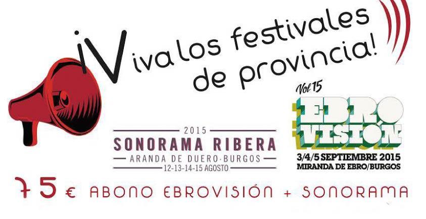 Sonorama y Ebrovisón se unen