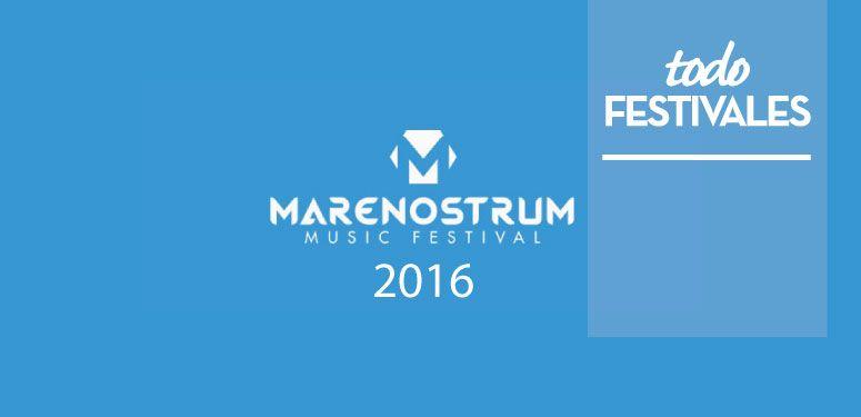 MARENOSTRUM MUSIC FESTIVAL 2016