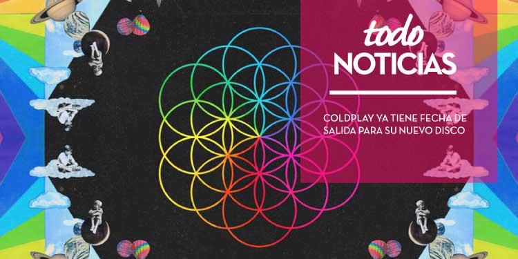 Coldplay ya tiene fecha de salida para su nuevo disco