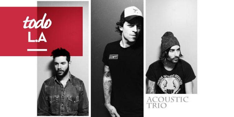 L.A gira Ocean Tour - Acustic Trio