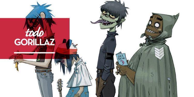 Gorillaz comparten una nueva playlist