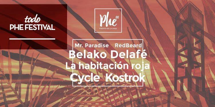 PHE FESTIVAL 2016, una nueva propuesta musical para Tenerife