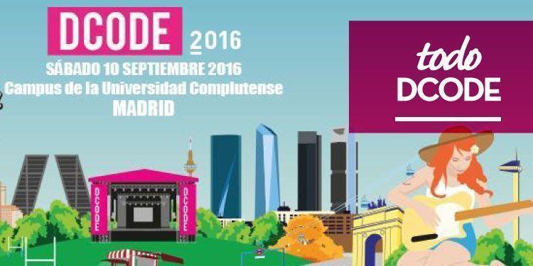 Dcode 2016 añade tres nuevo nombres al cartel