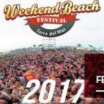 Nuevas confirmaciones para el Weekend Beach Festival 2017