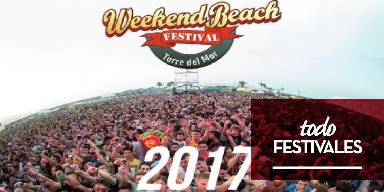 Weekend Beach Festival 2017 sigue sumando nombres