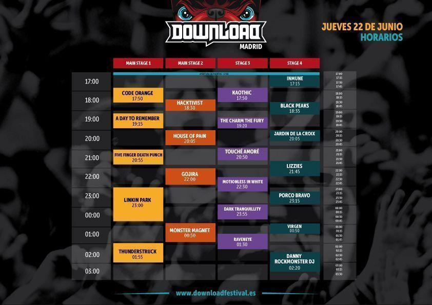 horarios_jueves_Download-Festival-2017
