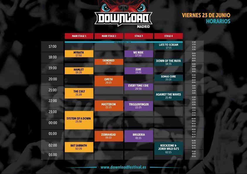 horarios_viernes-Download-Festival-2017