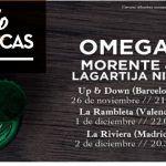 Crónica Los Morente y Lagartija Nick: Omega en Madrid