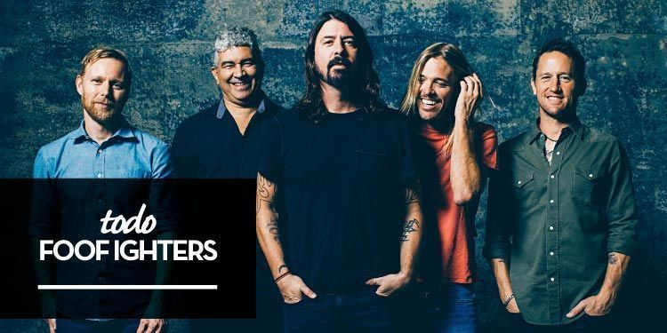 "Foo Fighters anuncian nuevo disco, ""Concrete and Gold"""