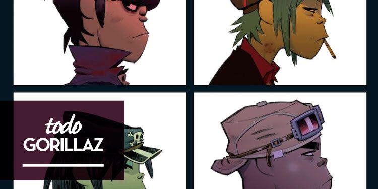 Gorillaz publicarán nuevo disco en 2018 y posiblemente en 2019