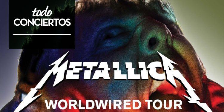 Metallica dará 3 conciertos en España