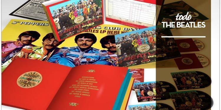 Se reedita Sgt. Pepper's Lonely Hearts Club Band de The Bealtes