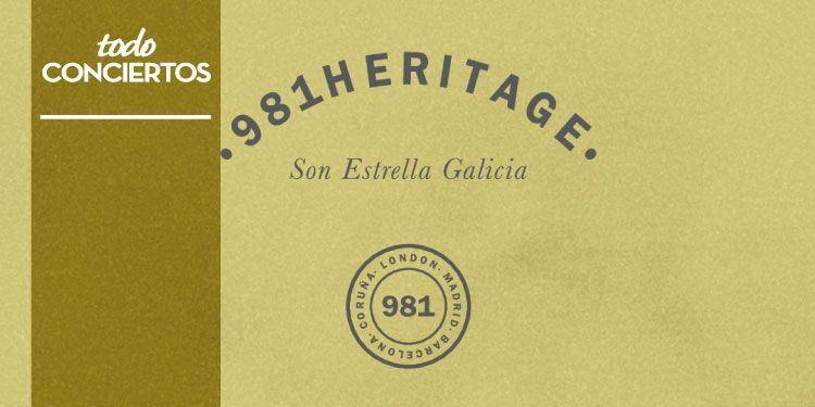 981 Heritage SON Estrella Galicia estrena cartel