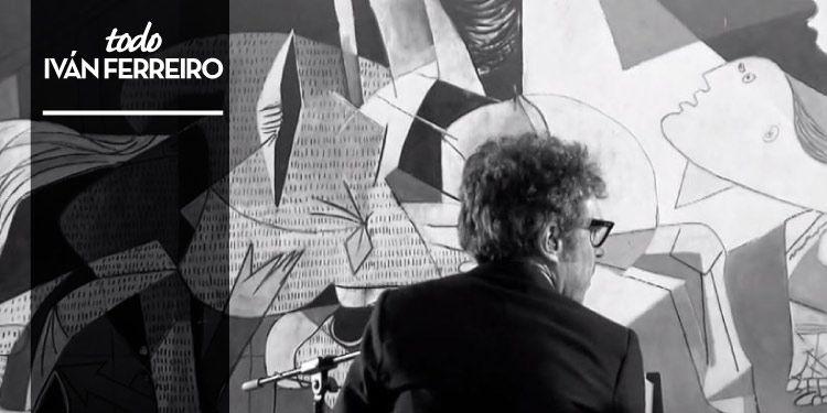 Iván Ferreiro en Suena Guernica