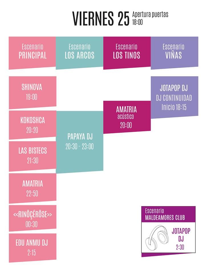 horarios muwi viernes