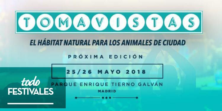 Tres nombres se unen al Festival Tomavistas 2018