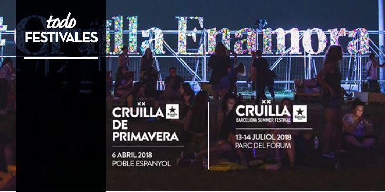 Primeros nombres para el Festival Crüilla 2018