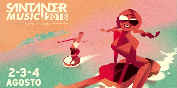 Primeras confirmaciones para el Santander Music Festival 2018