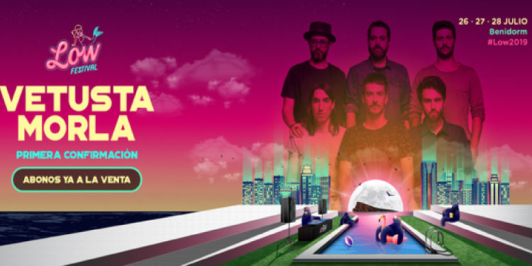 Vetusta Morla es la primera confirmación del Low Festival