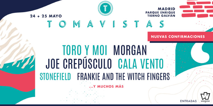 Nuevos nombres se unen al Festival Tomavistas