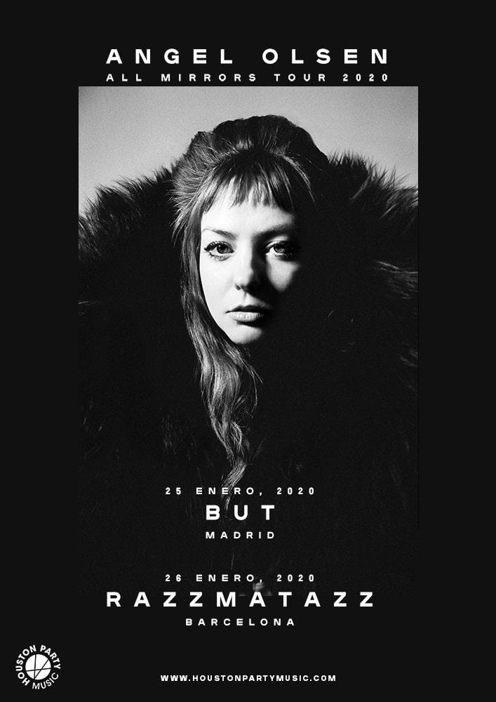 Angel Olsen en concierto en Madrid y Barcelona con nuevo disco
