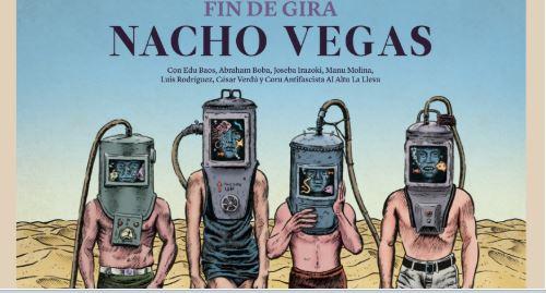 Nacho Vegas anuncia fin de gira Violética