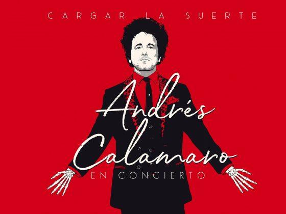 Andrés Calamaro anuncia concierto en Madrid
