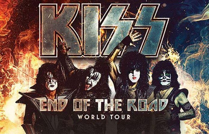 Concierto de Kiss en Madrid y Barcelona en 2020